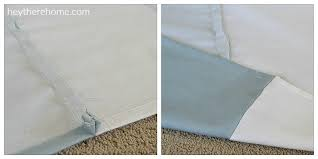 Sewing Drapery Panels Together Diy Grommet Top Curtains Using Shower Curtains