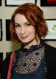 what is felicia day s hair color felicia day nerdist