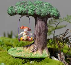 shop 1 set swing xiaomei in the tree bonsai ornaments moss