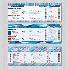 printable fake airline tickets thin lined paper word invitation