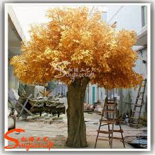 Wedding Wishes Tree Golden Life Size Artificial Trees Branches Wholesale Wedding