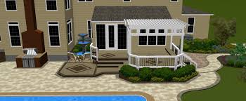 Pool And Patio Design Ideas by Flooring Azek Pavers Near A Swimming Pool For Yard Design Ideas