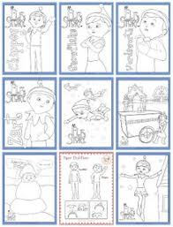 free printable coloring pages of elves elf on the shelf ideas printables activities elves free