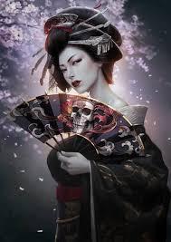 japanese geisha awesome tattoo graphic design tattooshunter com