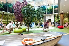 google office design google st james u0027s park atrium office design pinterest office