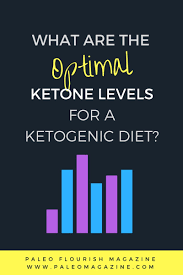 what are the optimal ketone levels for a ketogenic diet