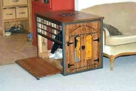 dog kennel side table side table dog crate coffee table dog crate thing side table dog