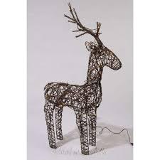 pre lit reindeer outdoor outdoor designs