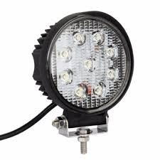 4 inch round led lights 4 inch round led work light 27w cree led flood beam for off road 4x4