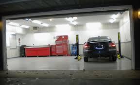 Garage Interior Design Decoration Large Garage Interior Wall Design With White Paint