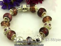 pandora style bead bracelet images Wholesale pandora style charm bracelets with big whole beads how jpg