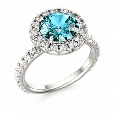birthstone engagement rings engagement rings with december birthstone 14080