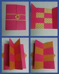 craft how to make secret door greeting card magic card