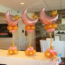 twinkle twinkle decorations twinkle twinkle balloon centerpieces moon and
