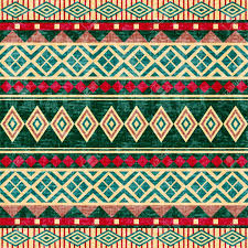 Tribal Print Wallpaper by African Pattern Wallpaper