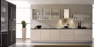 new glass kitchen cabinet doors wonderful use of glass in a black and white kitchen 28