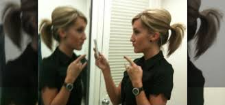 how to add height to hair how to do a bumped ponytail without a bumpit or teasing
