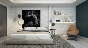 Bedroom Decorating Ideas Black And White 7 Bedrooms With Brilliant Accent Walls