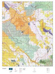 Colorado Elevation Map by Colorado Gmu 62 Map Mytopo