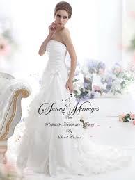 robe de mariã e sur mesure pas cher robes de mariée bustier et froufrou mariage