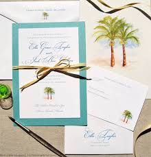 palm tree wedding invitations mospens studio superb palm tree wedding invitation 4