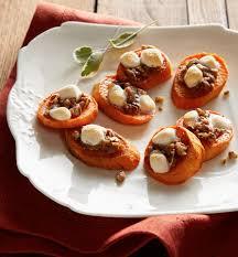 sweet potato casserole rounds recipe bite size thanksgiving and