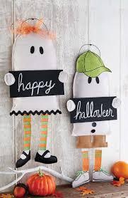 burlap halloween door hanger burlap boy and design trick or