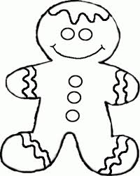 gingerbread man coloring pages coloring page