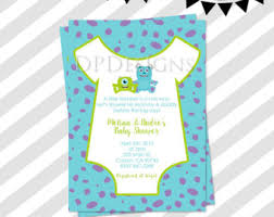 inc baby shower monsters inc baby shower invitations