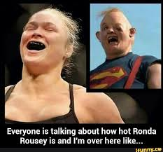 Goonies Meme - best rhonda rousey knock out memes shareology