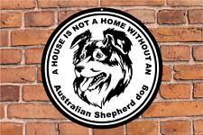 australian shepherd yard art australian shepherd signs u0026 plaques ebay