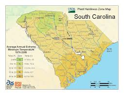 Garden Planting Zones - usda plant hardiness zone map we live in 8a average annual