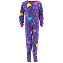 footed pajamas for prints styles