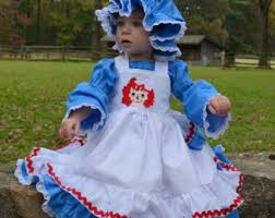 Raggedy Ann Andy Halloween Costumes Adults Raggedy Ann Dress Etsy