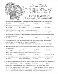 let s talk turkey trivia quiz for thanksgiving
