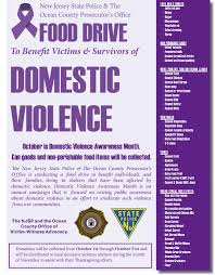 thanksgiving food drive items help the njsp u0026 ocpo make a difference this october for domestic