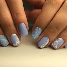 Baby Nail Art Design 50 Rose Nail Art Design Ideas Rose Nail Art Baby Blue Colour