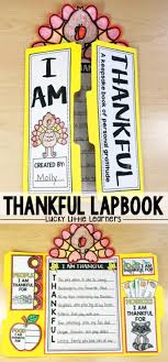 i am thankful lapbook lucky learners