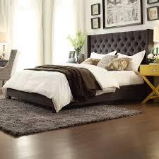 Brown Shag Area Rug by Bedroom Black Fabric Shag Area Rug Brown Wooden Laminate Floor
