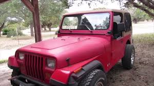 wrangler jeep pink 1990 jeep wrangler build preview youtube