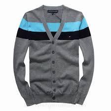 hilfiger sweater mens uk mens hilfiger button front striped cardigan sweater