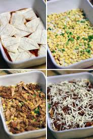 Cooking Light Enchilada Casserole Chicken And Corn Enchilada Casserole Bowl Of Delicious