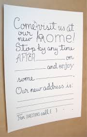 House Warming Invitation Cards Housewarming Party Invitations Fill In Invitations Set Of 8 New