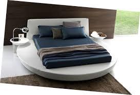bedroom sweet presotto zero sunrise round platform bed low