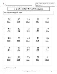 Subtraction Worksheets For 1st Grade Math Worksheets Free First Preschool Addition Worksheet V Math