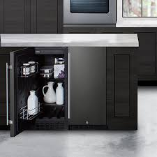 how to trim cabinet above refrigerator built in undercounter refrigeration summit appliance