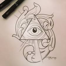 tattoos all seeing eye 300 drawing prompts