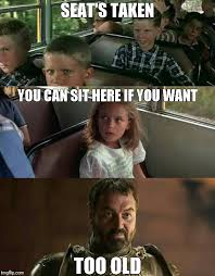 Taken Meme - forrest gump seats taken meme brokeasshome com