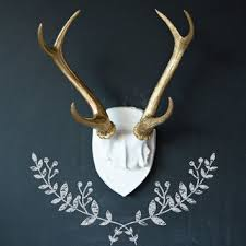 deer antler home decor best deer wall mount products on wanelo
