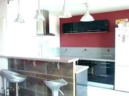 modele de cuisine en u modele cuisine bois moderne modles de credences cuisines blanches